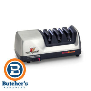 Chef's Choice 15 Trizor XV Electric Knife Sharpener Grey Silver *Free Express*