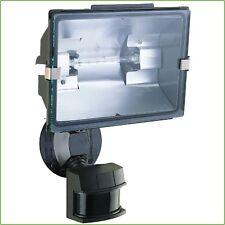 MOTION SENSOR DETECTOR LIGHT 500-Watt Halogen Bulb Outdoor Security Flood Light