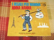 """I REGALI PER LA MAMMA / NINNA NANNA Edizioni Paoline SRB 45.12 LP 7"""""""