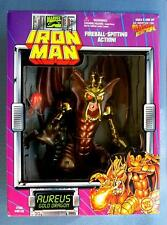 AUREUS GOLD DRAGON IRONMAN IRON MAN MARVEL COMICS TOYBIZ ACTION FIGURE