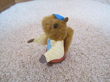 Vintage Fisher Price Woodsey Squirrel Family log wood tree woodsy Dad father