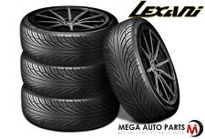 4 X New Lexani LX-Seven 225/40R18 92W XL All Season Ultra High Performance Tires
