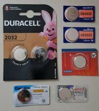 1 bis 50 Marken Knopfzellen 20 Typen CR1025 bis CR3032 Batterien Lithium 3 Volt