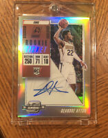 DeAndre Ayton 2018-19 Panini Contenders Optic Rookie  Auto Refractor On Card Rc