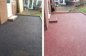 PAINTMASTER (RED) TARMAC DRIVEWAY COLOUR RESTORER ,.