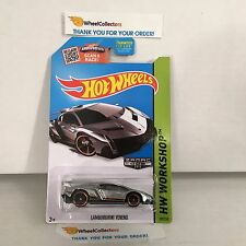 Lamborghini Veneno #189 * ZAMAC * 2015 Hot Wheels * M2