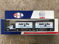 American Highway Legends Die-Cast Dutch Boy Double Semi Truck - 1:64 Scale