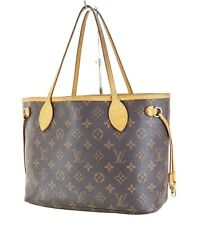 Authentic LOUIS VUITTON Neverfull PM Monogram Tote Bag Purse #35762