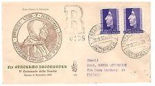 FDC VENETIA  CLUB  1952  -  SAVONAROLA    VIAGGIATA