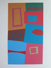 Josef Albers Original Silkscreen Folder XVIII-3 Left Interaction of Color 1963