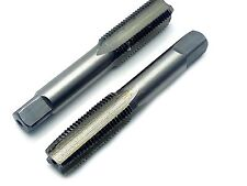 US Stock HSS 10mmx1 Metric Taper and Plug Tap Right Hand Thread M10 x 1mm Pitch