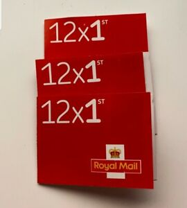 1200 1st Class Stamps First Class Postage Stamps NEW Self Adhesive 100book value