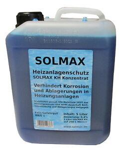 21,80 €/L SOLMAX KH Konzentrat Korrosionsschutz für Heizanlagen 5