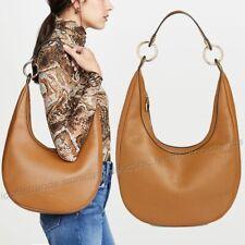 NWT 🍁 Rebecca Minkoff Sofia Leather Hobo Bag Shoulder Bag Nutmeg Brown