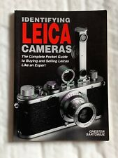 Identifying Leica Cameras, 1997,  168 Pages, Softback Book