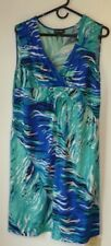Women's Dress,Fashion Bug,Size 1X,Sleeveless,Polyester Spandex,