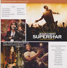 ALICE COOPER JOHN LEGEND AUTHORIZED JESUS CHRIST SUPERSTAR IN CONCERT PROMO DVD