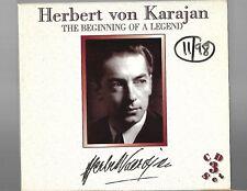 Herbert von Karajan The Beginning of a Legend (Box Set) 3 CD Digital Recordings
