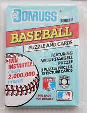 1991 Donruss Series 2 Major League Baseball Wax Pack Unopened Factory Sealed