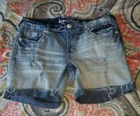 Ariya jeans 7/8 shorts flap pocket
