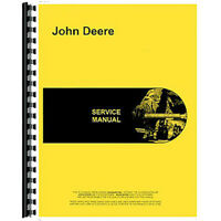RAP1307172 Service Manual Fits John Deere Skid Steer Model 125