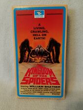 Kingdom Of The Spiders Vhs