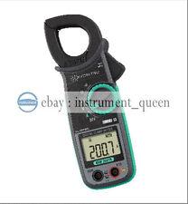 Kyoritsu 2007r Ac Digital Clamp Meter With True Rms 6001000a Auto Ranging