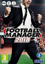 Football Manager 2018 (PC) - NEW & SEALED - UK PAL - FREE DELIVERY - UK SELLER
