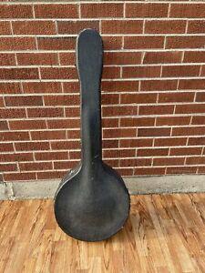 Vintage Tenor Banjo Hardshell Case w/ Blue Liner