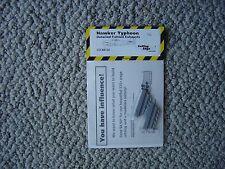Cutting Edge 1/48 Hawker Typhoon fishtail exhausts