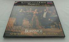 Sutherland Horne Pavarotti: Live From Lincoln Center 2xLP Box Set - D255D 2
