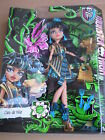 Monster High Cleo De Nile Gloom and Bloom Doll 2014 Mattel New BNIB