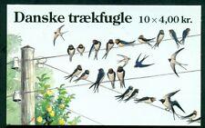 DENMARK HS103 (1163) Migratory Birds booklet, VF