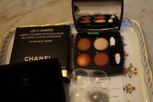 CHANEL  A NEW BRAND  2021 372 BOUQUET AMBRE  +Boîte  Quadra Eyeshadow NEUF