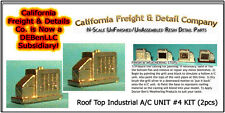 Roof Top A/C UNIT #4 KIT (2pcs) N/1:160-Scale Craftsman California Freight NEW!