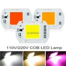 COB LED lamp 220V 110V LED Blue 10W 20W 30W 50W smart IC Diy Flood Light Bulb