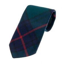 Men's 100% Wool - Traditional Scottish Tartan Neck Tie Wedding Groom Evening