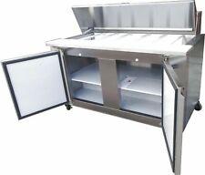 Mesas para preparación refrigeradas