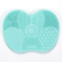 Silicone Makeup Brush Cleaner Washing Scrubber Board Cosmetic Pad Mat Green