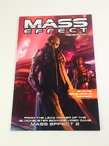 MASS EFFECT Redemeption Graphic Novel Dark Horse Bioware Loot Crate Comic