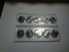 2019 W and 2020 W QUARTER 5 COIN SET ( 5 total coins )
