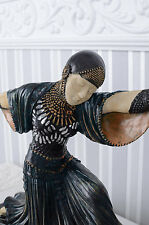 Frauenfigur Tänzerin Chiparus Skulptur Art Deco Figur Antik Stil