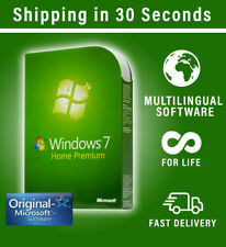 Microsoft Windows 7 Home Premium - 32/64 Bit - Multilingual - Original Key
