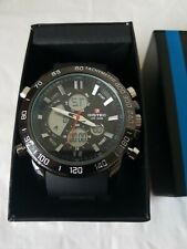 Mens Bistec WR 30M Watch Black
