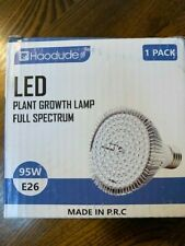 Haodude - LED Plant Growth Lamp Full Spectrum - 95W E26 NEW in Box