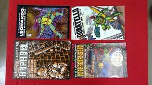 Teenage Mutant Ninja Turtles Comics Raphael, Leonardo, Michaelangelo, Donatello