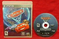Cars 2 Disney Pixar  -  PS3 Complete Game With Manual Tested Working