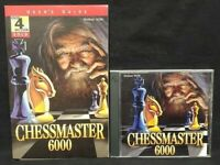 Chessmaster 6000 (PC, 1998) Windows 95/98 game + manual - Mint Disc 1 Owner !