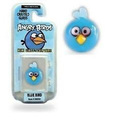 Angry Birds Mini Glass Sculpture Collectible - Blue Bird, NIP, Mint!