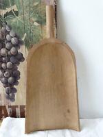 U0524 Grand, Vieux Cuillère de Farine Grain Pelle Food Photographie